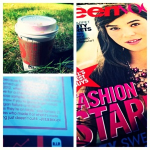 Pumpkin Spice Lattes, and my first Conde Nast byline!